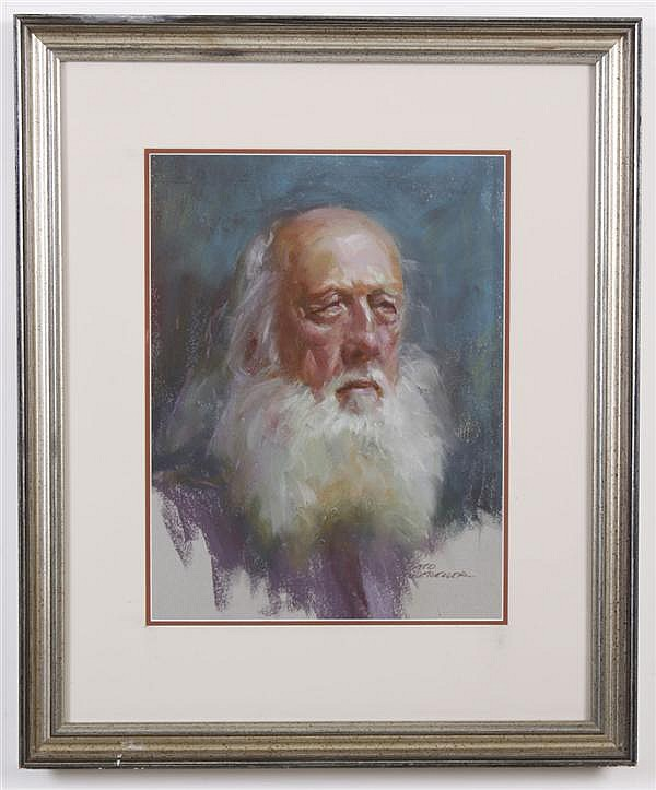 NED MUELLER (1940- , WA) PASTEL ON PAPER - Signed, titled