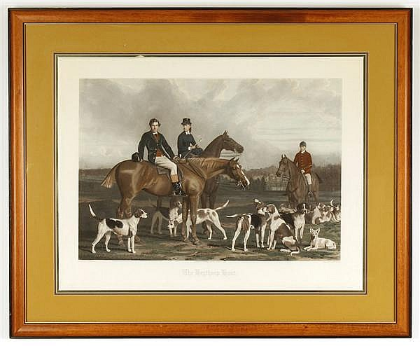 JAMES R. SCOTT (Engraver, 1809-1871, United Kingdom) LITHOGRAPH ON PAPER - Unsigned, after Stephan Pearce (1819-1904), titled