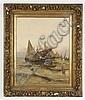GEORG FISCHHOF (aka J. Claiton, 1859-1914, Austria) OIL ON CANVAS - Signed
