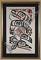 DAVID BOXLEY (1952- , Alaska) SILKSCREEN ON PAPER - Pencil signed, titled