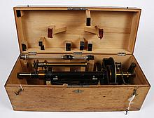 SACCHARIMETER POLARIMETER - Marked Franz, Schmidt & Haensch, Berlin, No. 6390. From Elli Buk Museum Collection. Constructed of brass,