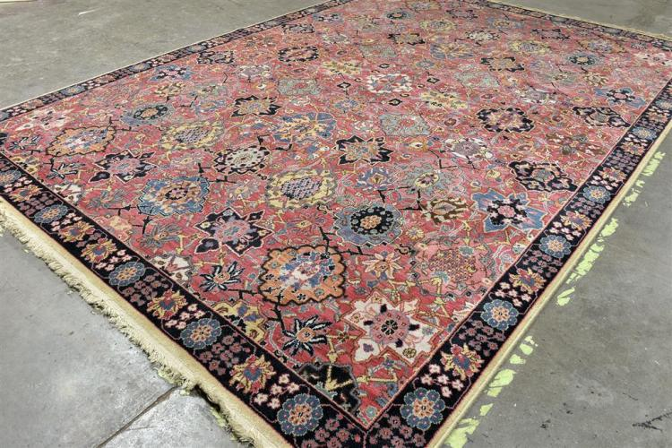 Carpet Power Loomed Karastan Wool On A Cotton Warp Reprod