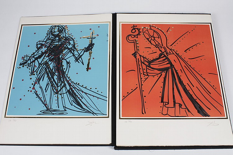 SALVADOR DALI (1904-1989, France/Spain) PRINTS -