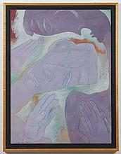 BILL BREWER (1955- , OR) PAINTING - Signed and dated, upper left, and titled