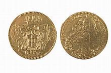 Peça, gold, F.Was used as a jewel.