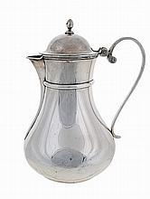 Big silver ewer, possibly 19th century.