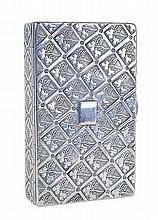 Portuguese silver 19th century snuff box.