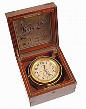 Longines marine chronometer.Nbr 2511691 from 1944..