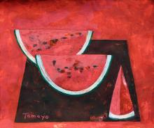 Painting: Attributed to: RUFINO TAMAYO (Mexican, 1899-1991)