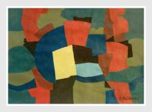 Painting: Attributed to: SERGE POLIAKOFF (Russian-born French, 1906-1969)
