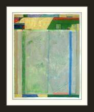Painting: Attributed to: RICHARD DIEBENKORN (American, 1922-1993)