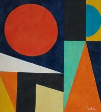 Painting: Attributed to AUGUSTE HERBIN (French, 1882-1960)