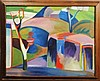 MINAS AVETISIAN CUBISM OIL ON CANVAS, Minas Avetisyan, Click for value