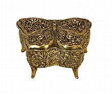 MUSICAL JEWELRY BOX SHAPE OF BUTTERFLY