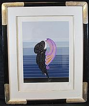 ORIGINAL ERTE SERIGRAPH BEAUTY & THE BEAST