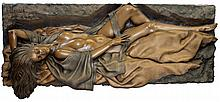 BILL MACK BONDED BRONZE RECLINING NUDE