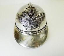 HUGE RUSSIAN IMPERIAL SILVER HELMET