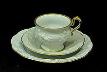 VON SCHIERHOLTZ 3PC TEA CUP SAUCER LUNCH PLATE