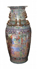 HUGE CHINESE PORCELAIN PALACE VASE
