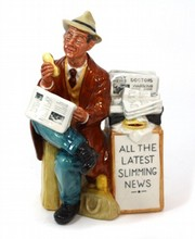 ROYAL DOULTON STOP PRESS HN #2683