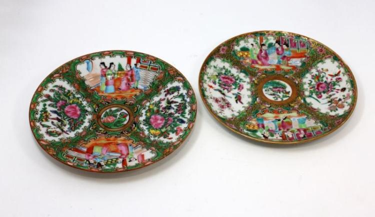 antique chinese rose medallion porcelain