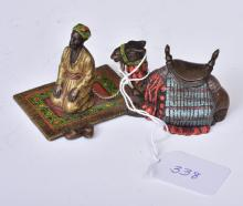 Vienna Cold Painted Bronze of Arab and camel