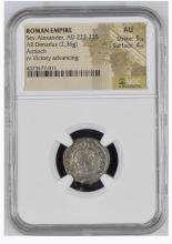 Ancient Coin: Roman Empire AR Silver Denarius Sev.Alexander, AD 222-2