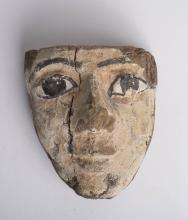 Ancient Egyptian Wood Mask THIRD INTERMEDIATE PERIOD