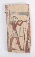 Ancient Egyptian Wood Panel Late Period c.600 BC.