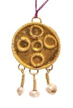 Ancient Roman Gold Pendant c.1st century AD.