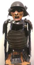 A Set Japanese samurai armor 17th century.