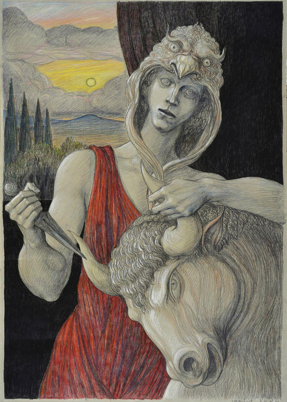 ALBERTO ABATE (1946) MITHRIACA 1987