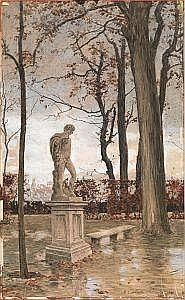 Calderini, Marco (Torino 1850 - 1941) IL PARCO DEL