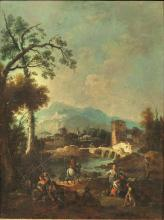Giuseppe Zais (Forno di Canale 1709 – Treviso 1781) PAESAGGI FL