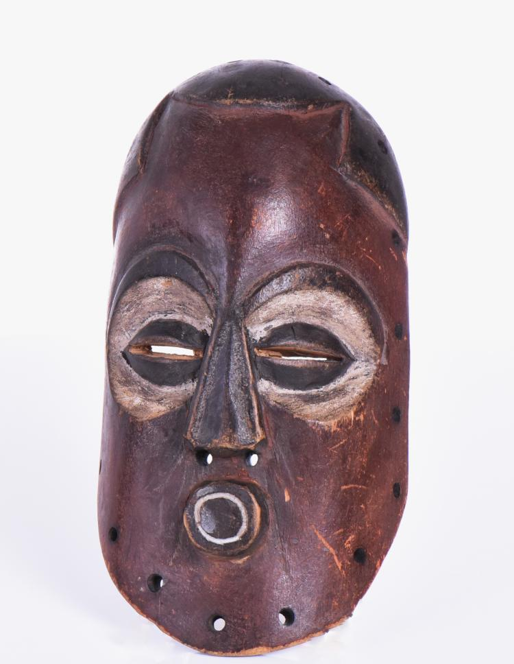 African Wood Mask.  Estimated more than 50 yrs