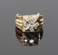 14k Gold Ring With Large High Quality Natural