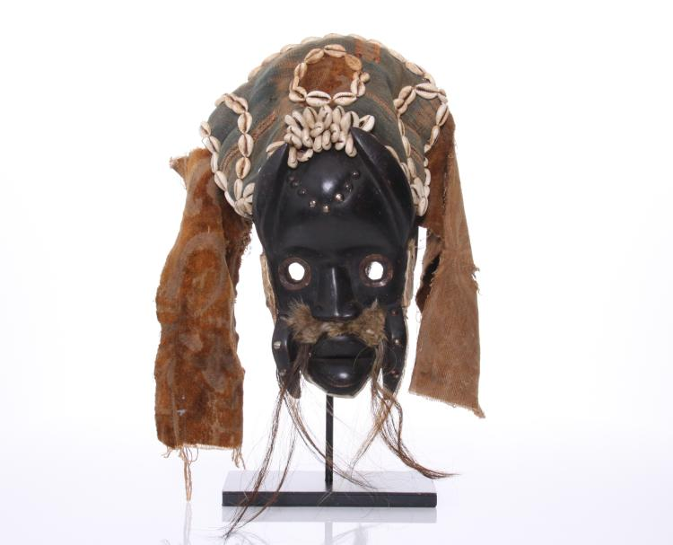 Antique African Mask from the Dan people of Iv