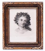 Ca. 1800 Pencil Drawing Attributed To Pauline