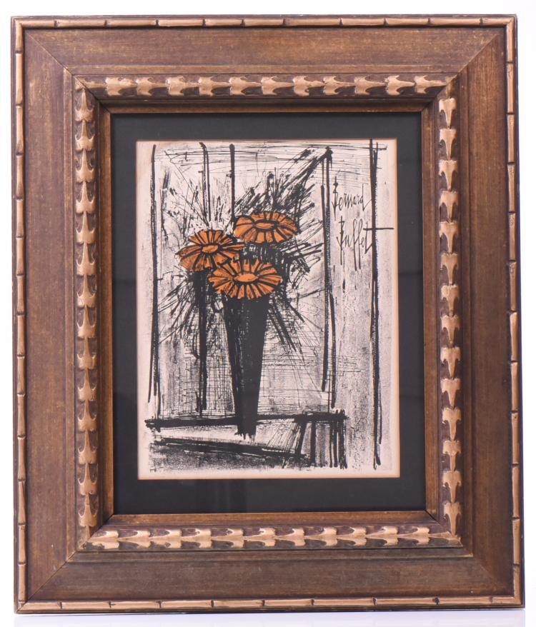 Bernard Buffet Mid- Century Modern Lithograph