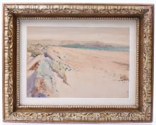 J.W. Wadsworth Signed Plein Air Watercolor. Ea