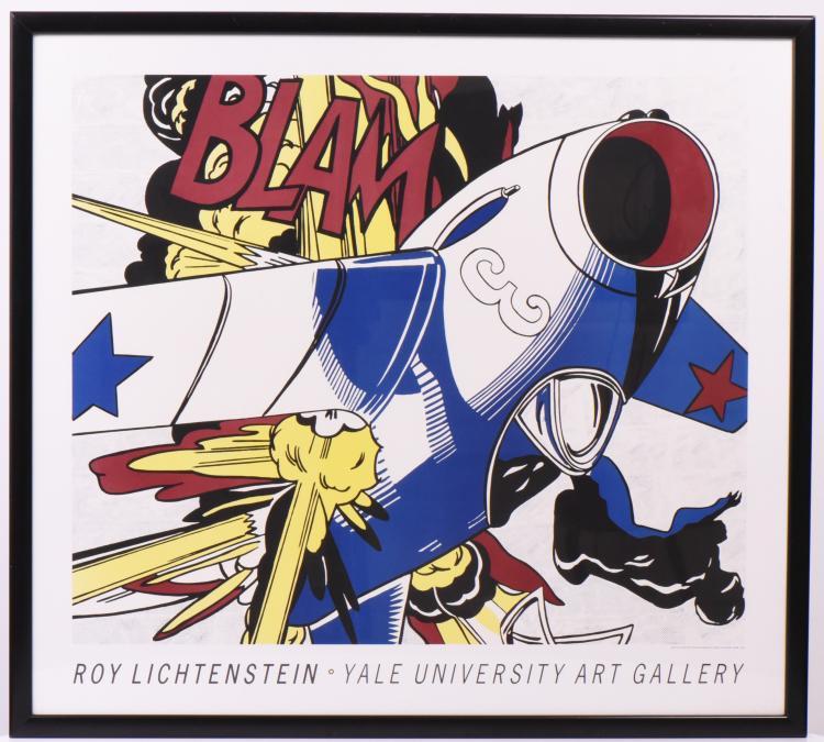 Roy Lichtenstein Lithograph Poster