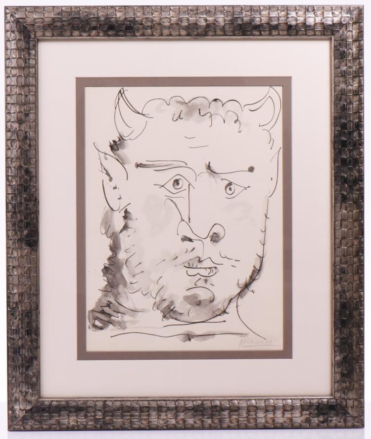 Picasso Lithograph, 40 Dessins De Picasso En M