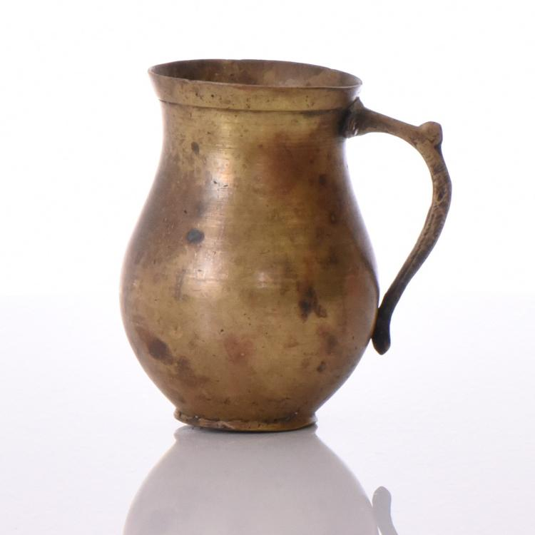 European Brass Mug. Estimated more than 100