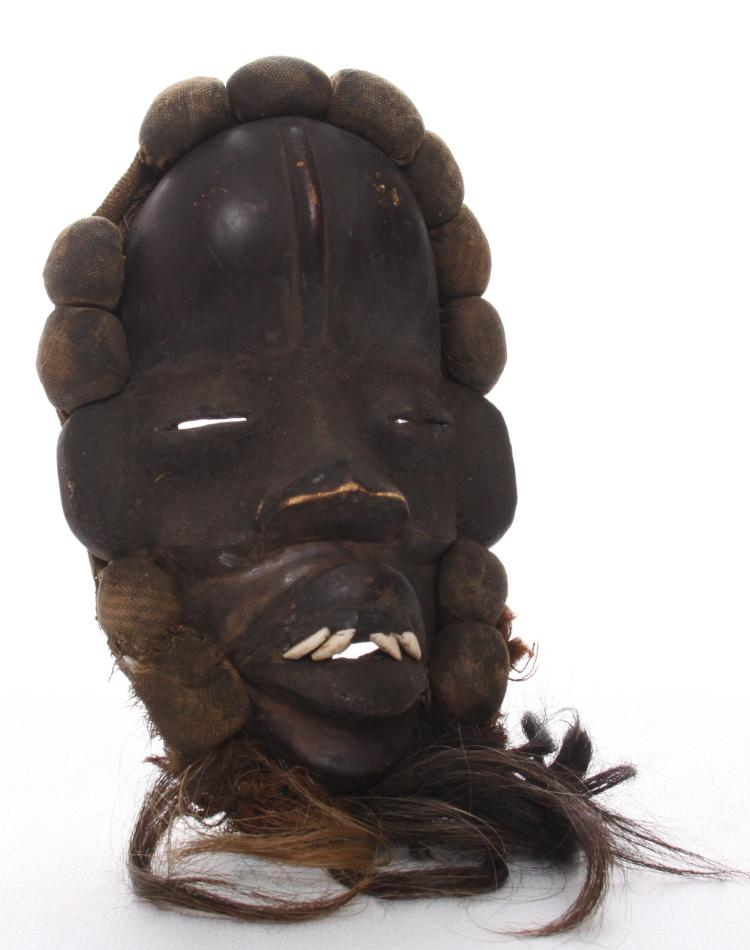African Dan Complex tribal mask from Liberia a