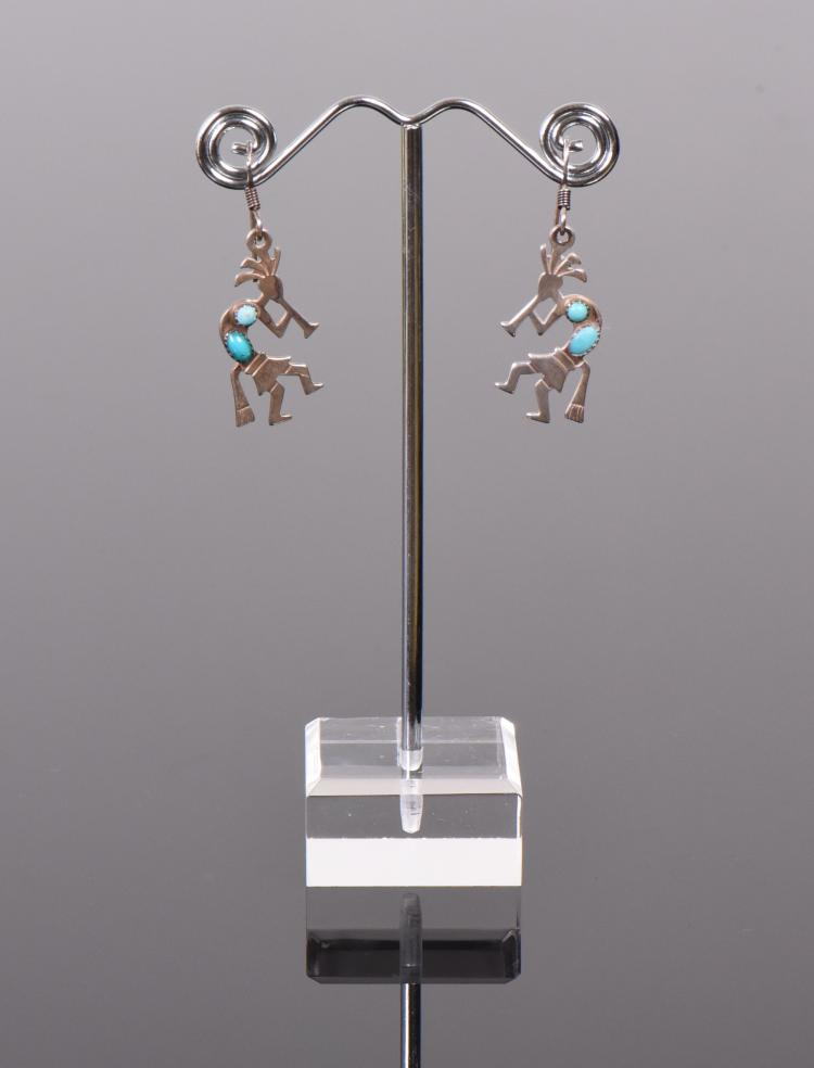 Hopi, Sleeping Beauty Turquoise Sterling Silve