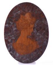 Charles Dana Gibson Wood Cut. A True Museum Pi