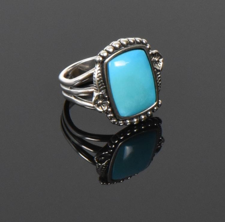 Butterfly Picto J, Navajo, Blue Turquoise Ster