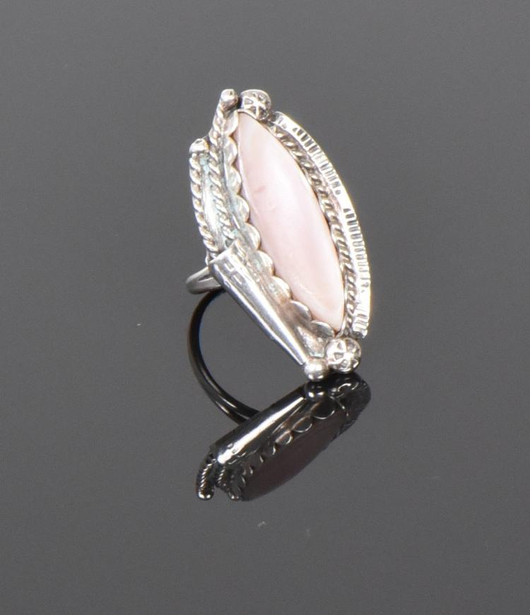 Starburst Sun Picto, Pink Coral Sterling Silve