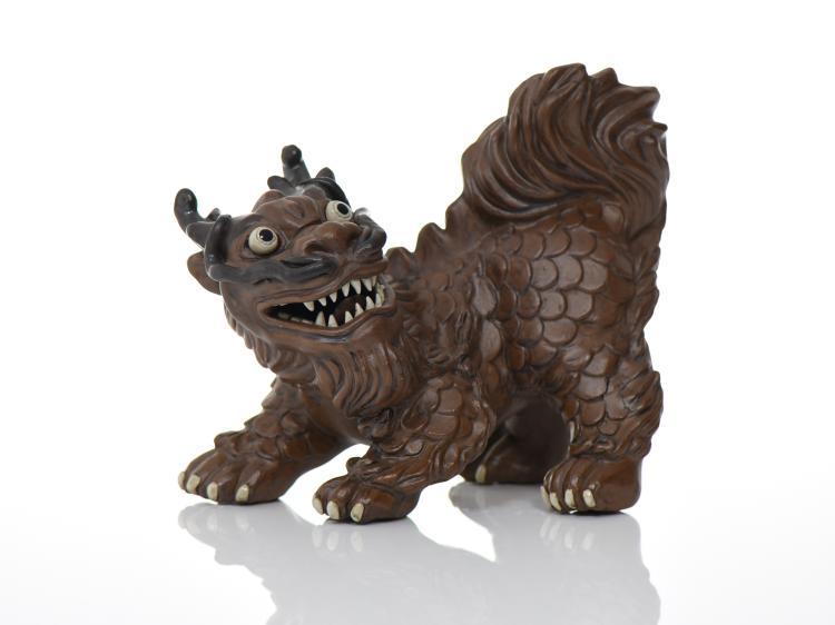 Japanese Foo Dragon Or Foo Dog With Chop Mark