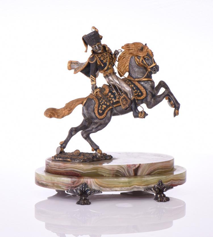 Giuseppe Vasari, Italian Gilded Bronze Of A Ca